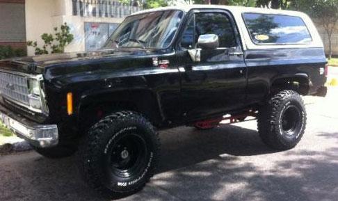 Auto Chevrolet Blazer K5