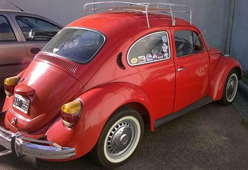 Car Volkswagen Escarabajo Fusca