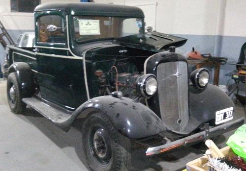Auto Chevrolet 1936