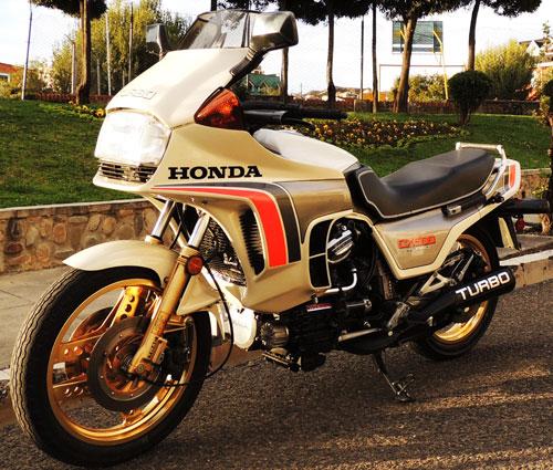 Moto Honda CX 500 Turbo
