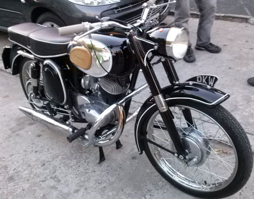 Motorcycle DKW 150 1964
