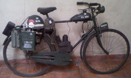 Bicicleta Bici Militar
