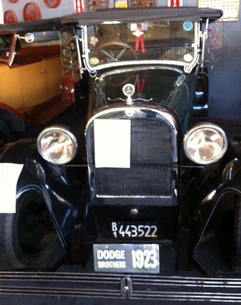 Auto Dodge 1923