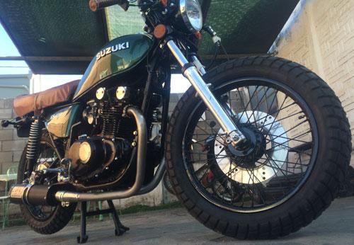Motorcycle Suzuki 1977