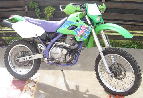 Motorcycle Kawasaki KLX 650 R
