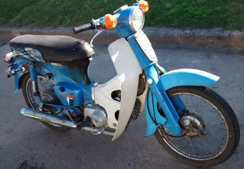 Motorcycle Honda Econo C90