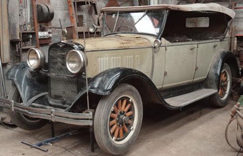Car Dodge 1928