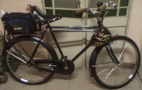 Bicicleta Tipo Inglesa Doble Caño