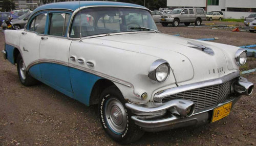Car Buick Special 1956