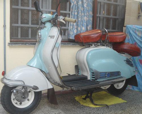 Motorcycle Lambretta 1960
