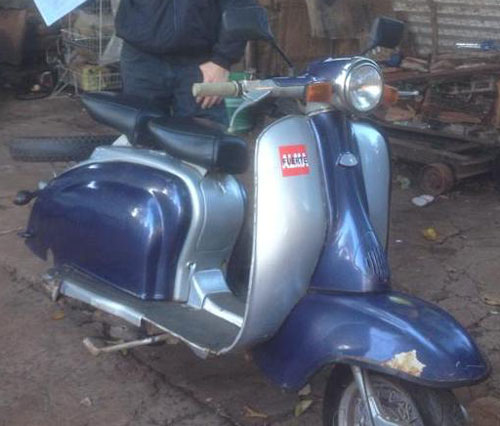 Motorcycle Lambreta LI 150