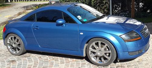Car Audi TT Quatro 2001