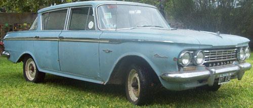 Car Rambler Custom Classic 1962