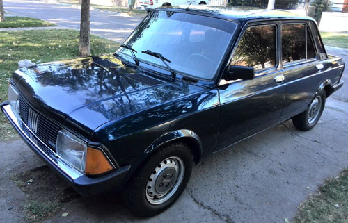 Auto Fiat 128 Super Europa 1.5