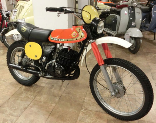 Motorcycle Montesa Enduro 75 L