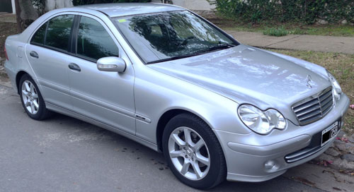 Car Mercedes Benz C 200 Kompressor