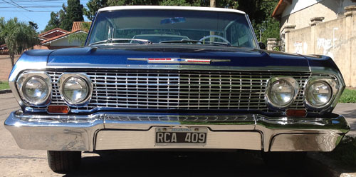 Car Chevrolet Impala 1963