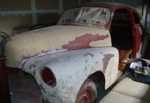 Car Chevrolet 1947 Coupé