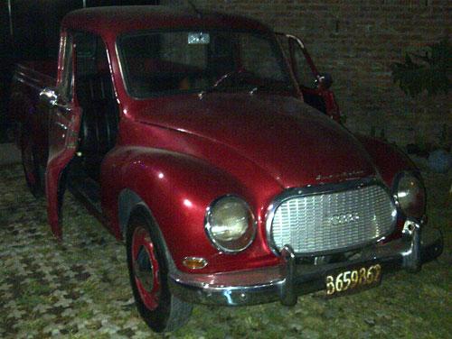 Auto Audi DKW 1962