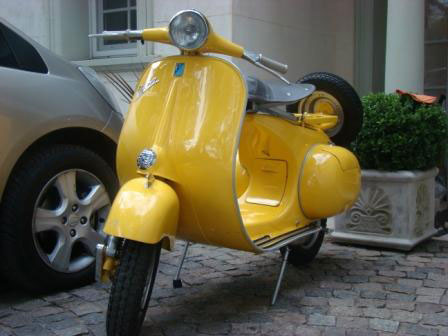 Motorcycle Vespa VB1 1957