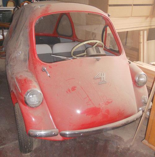 Car Heinkel Kabinet