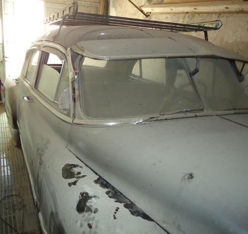 Car Chevrolet 1951 De Luxe