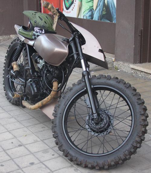 Moto Honda CB 125S