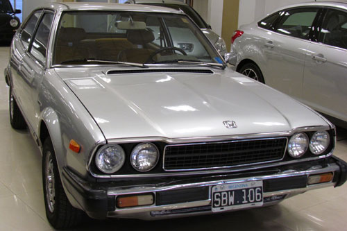 Car Honda Coupé Accord 1981
