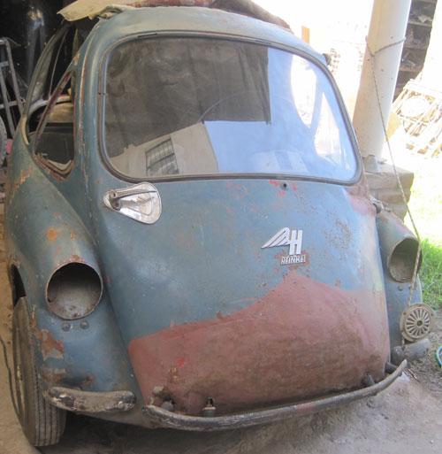 Car Heinkel 1958