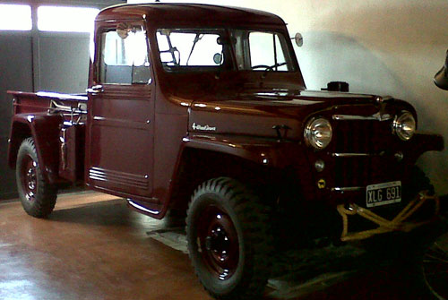 Car Willys Overland Truck 1954