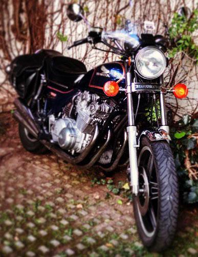 Motorcycle Honda Custom CB 900C