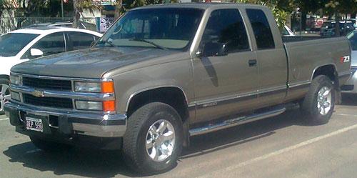 Car Chevrolet K1500 Z71