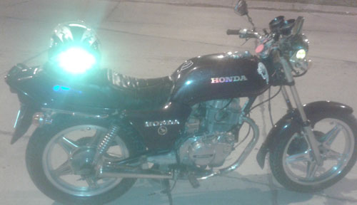 Moto Honda CB