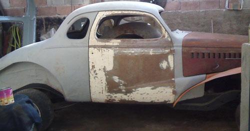Car Chevrolet Coupé 1938
