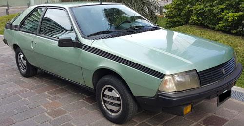 Auto Renault Coupé Fuego GTX 2000