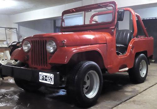 Car Jeep IKA 1958