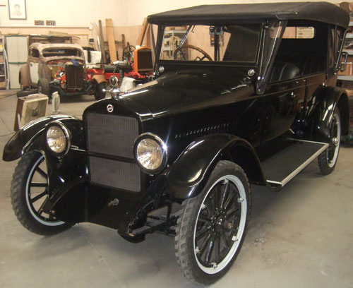 Auto Studebaker 1924 Phaeton