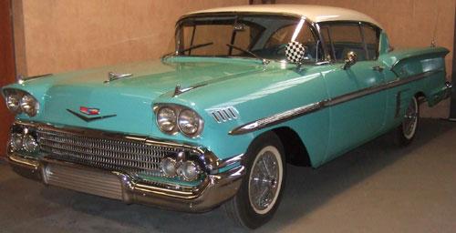 Car Chevrolet Impala 1958