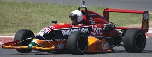 Car Honda Fórmula