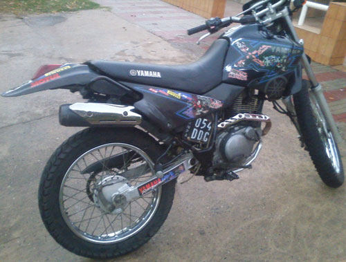 Car Yamaha XT 2007