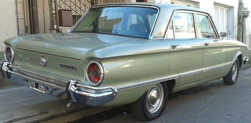 Car Ford Falcon 1972