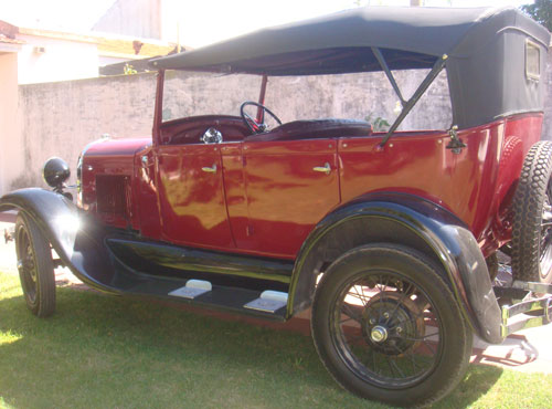 Car Ford A Doble Phaeton 1929