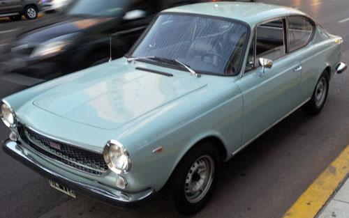 Car Fiat 125 C