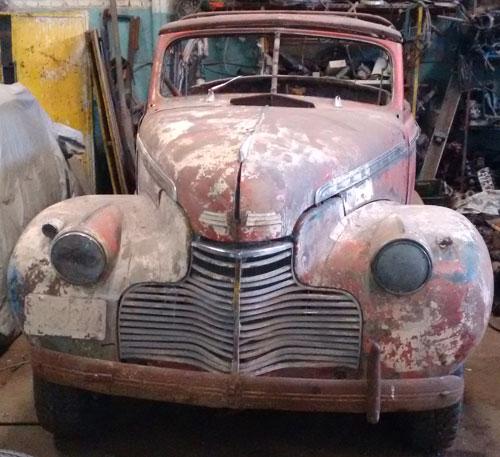 Car Chevrolet 1940 Convertible