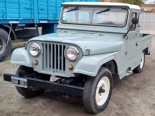 Car Jeep 1962