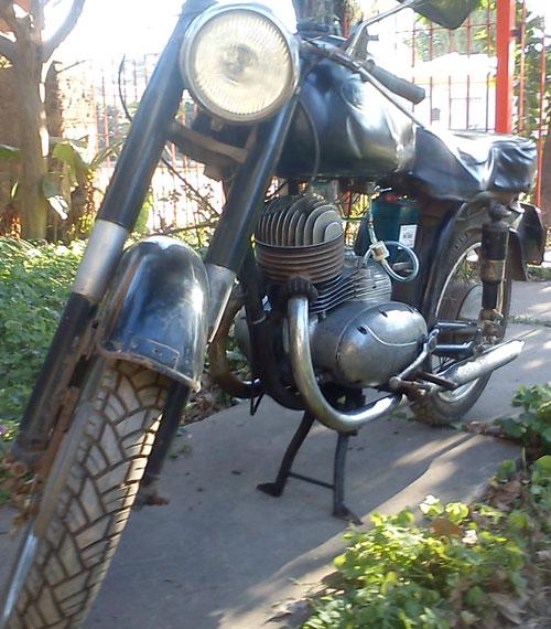 Motorcycle Jawa 60