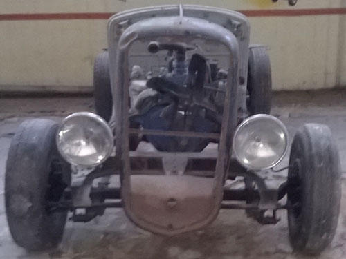Car Willys Baquet