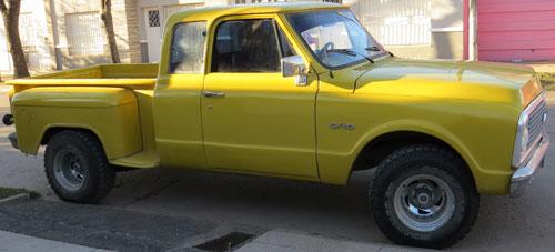 Auto Chevrolet 1972