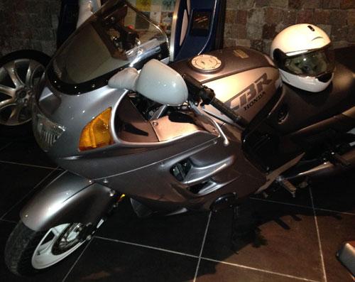 Motorcycle Honda CBR 1000F