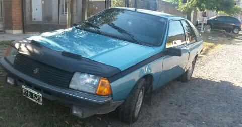 Car Renault Fuego 1988 Full